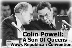 Colin Powell: A Son Of Queens Wows Republican Convention